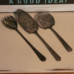 Assorted Vintage Silverware